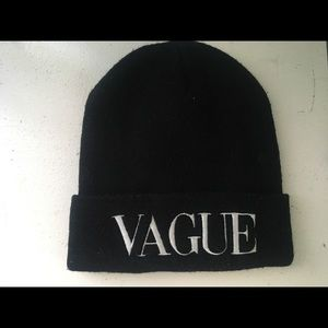 Accessories - Black Vague Beanie